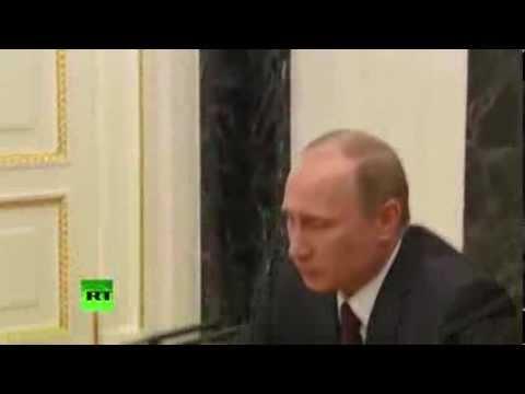 Владимир Путин откроет счёт в банке «Россия», пострадавшем от санкции