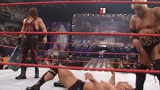 The Rock, Theodore Long & Jack Doan vs. Kane & Rikishi: Raw, Jan. 8, 2001