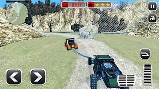 6x6 Mud Runner Car Tow Truck Offroad Spin Tires Simulator Android Game Simulator Mountain Car