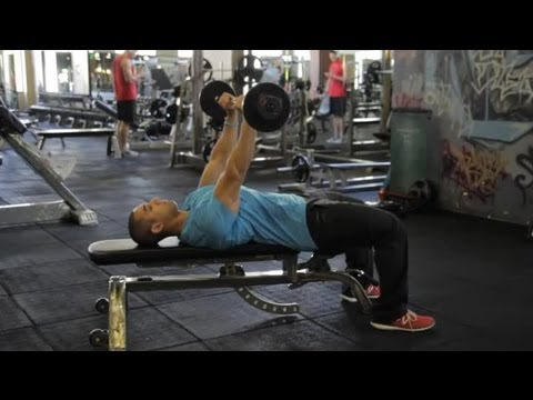 Pumping Iron Exercises for Weightlifters : Exercises for Building Muscles