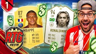 YES! MASSIVE FIRST FIFA 19 PACK! FIFA 19 ULTIMATE TEAM! RTG #01