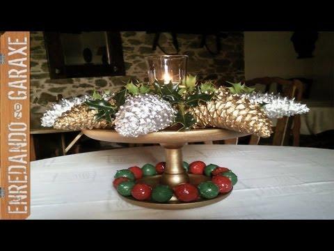 Centro de mesa de navidad 2011 christmas table for Centro mesa navidad