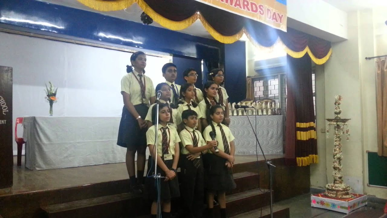 What Is Inappropriate For Children >> Welcome song by the children on the Annual Awards day of St. Gregorios High School - YouTube