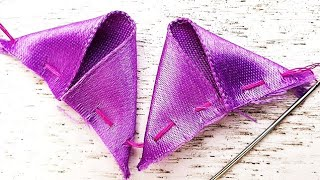 DIY Cool ideas, Beautiful Art With Ribbon