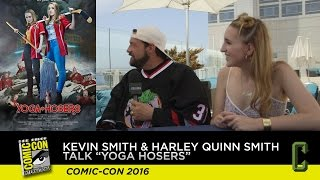 Watch: Kevin Smith Talks Up the Weirdness of 'Yoga Hosers' and Johnny Depp
