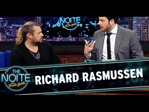 The Noite 31/07/14 (parte 1) - Entrevista com Richard Rasmussen