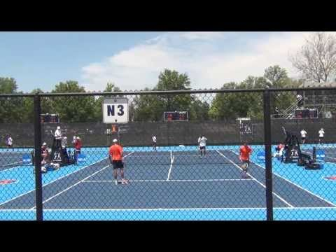 Georgia vs Virginia - More Doubles Action