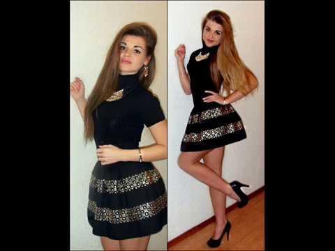 Красивые девушки, короткие юбки, чулки и высокие каблуки.Sexy Girls.4