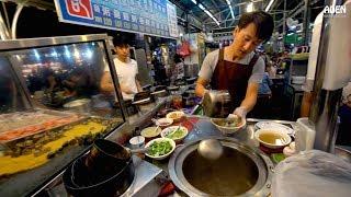 Taiwan Street Food Tour - Ruifeng Night Market in Kaohsiung, Taiwan