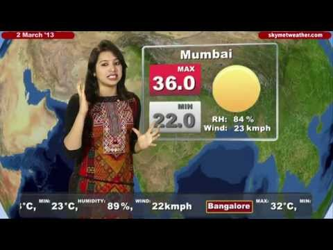 Skymet Weather Report - India March 02, 2013