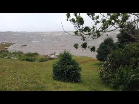 Hurricane Arthur in Nova Scotia
