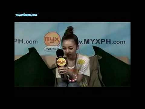 Sandara in the Philippines Myxph.com chat [081309] Music Videos