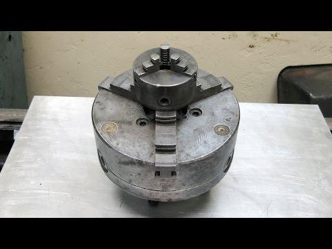 Реанимация бедного токарного патрона на 80 мм -  разборка и обзор