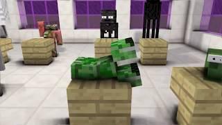 Monster School : MOMO HORROR CHALLENGE - Minecraft Animation