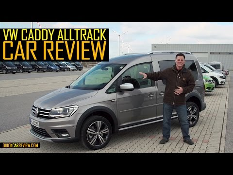 CAR REVIEW: 2016 Volkswagen Caddy Alltrack Test Drive