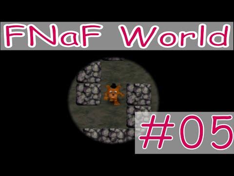 Let's Play FNaF World #5 Ahh, DA ist der Geheimweg! :D