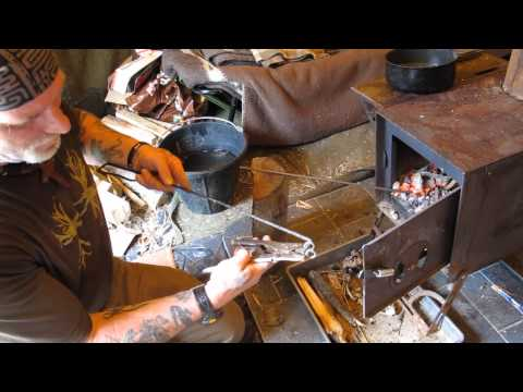 Journal of the Yurt 50 Forging a Cookset.wmv