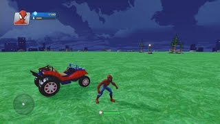 Disney Infinity 2.0-My Interior (Day 2) Spider-Man Power Discs