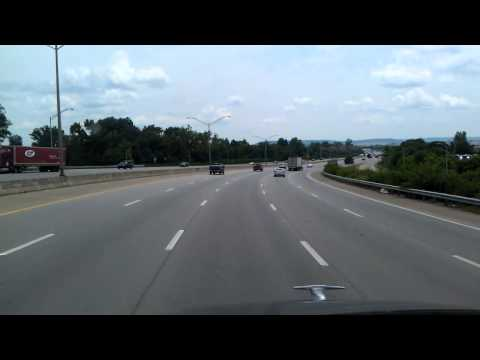 Interstate 65 South in Louisville, Kentucky
