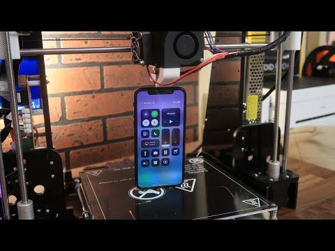 iPhone X на 3D Принтере - Влогодекабрь