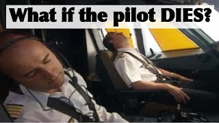 What if the pilot DIES? - Pilot incapacitation briefing