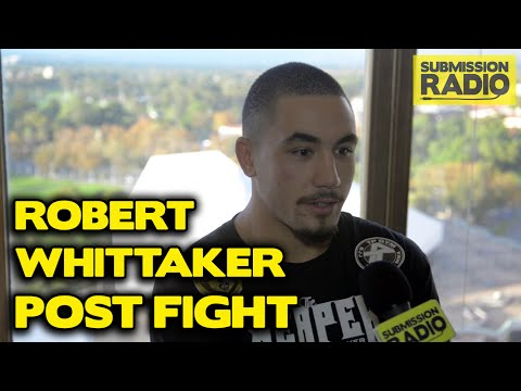 UFC Fight Night Adelaide: Robert Whittaker talks Brad Tavares KO, his size | Post fight