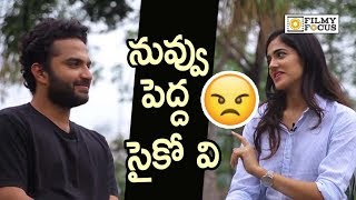 Vishwak Sen and Simran about Ee Nagaraniki Emaindi Movie Breakup Scene