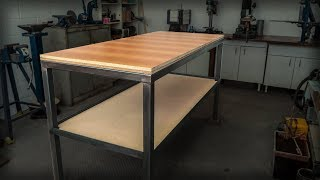 Stick Welding A Simple But Sturdy Workbench