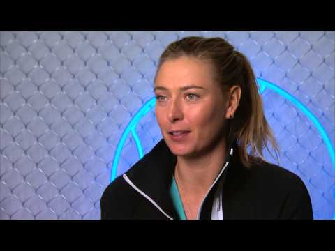 Maria Sharapova pre-final interview - Australian Open 2015