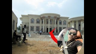 OMG! Shatta Wale Inspect New Mansion In Kumasi
