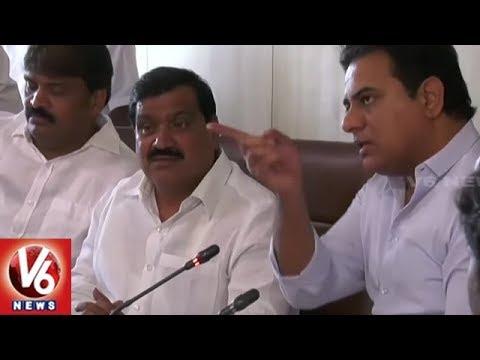 Telangana Govt Sets Up Task Force Committee On Public Transportation In Hyderabad | V6 News