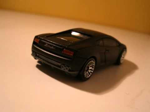 hot wheels lamborghini gallardo lp560 4 black youtube. Black Bedroom Furniture Sets. Home Design Ideas