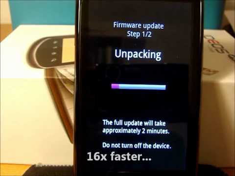 Huawei U8800 IDEOS X5 Android 2.2.1 Froyo to official 2.3 Gingerbread update