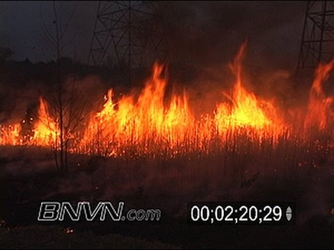 10/24/2006 Wild Fire Video and Controlled Burn Footage. Part 4 of 4