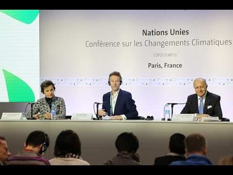 Press Conference by Laurent Fabius and Christiana Figueres