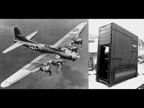 Corsair 900D WWII Memphis Belle Bomber Military Case Mod Guide