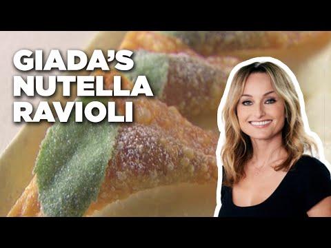 Easy Fried Nutella Ravioli-Food Network