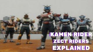 Kamen Rider Kabuto: ZECTRider Forms EXPLAINED