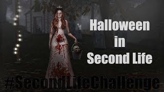 #SecondLifeChallenge – Halloween in Second Life