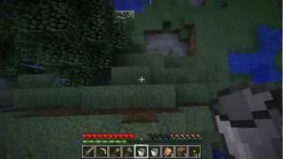 Minecraft - строим шахту и бесконечный источник.