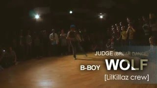 GKB 2015 -(judge HIP-HOP) - b-boy WOLF  [LilKillaz Crew]