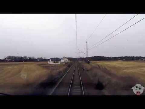 Train Driver's View: Halden to Oslo