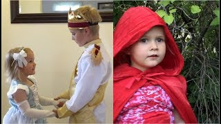 FAIRY TALE COMPILATION FOR KIDS #1!! CINDERELLA AND LITTLE RED RIDING HOOD AMAZING & FUNNY!