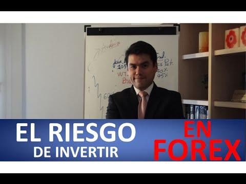 El riesgo de invertir en Forex.