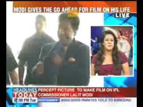 IPL Chief Lalit Modi approves for Biopic with PPC