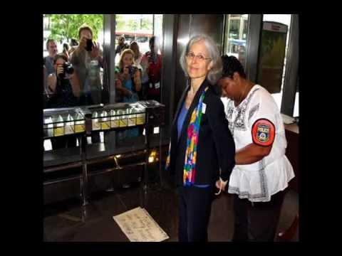 Arrestada Jill Stein, candidata a la presidencia de EU por el Partido Verde.