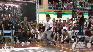 Popping Judge Solo - HOZIN | 20130303 OBS VOL.7 TAIWAN FINAL