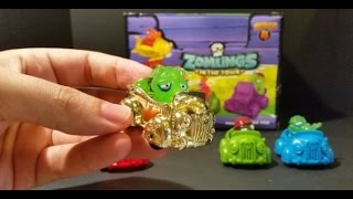 Zomlings Serie 4 - !! Unboxing Zom-Mobile !! #2 CromoCole