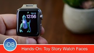 Hands-On: New watchOS 4 Toy Story Watch Faces