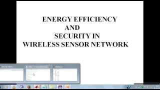 Energy efficiency and security in wireless sensor network